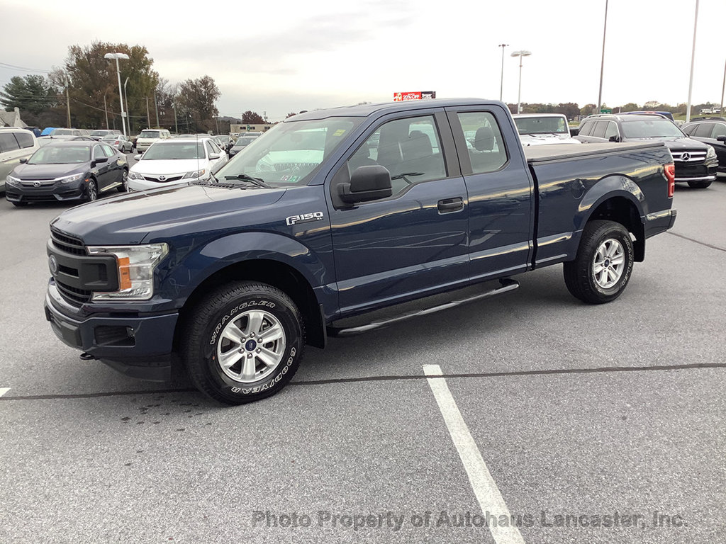Pre-Owned 2018 Ford F-150 XL 4WD SuperCab 6.5' Box