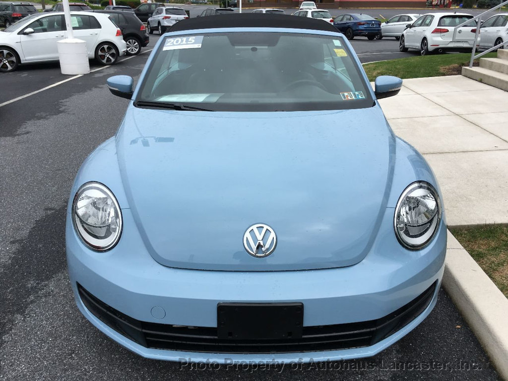 Pre-Owned 2015 Volkswagen Beetle Convertible 2dr Automatic 1.8T PZEV