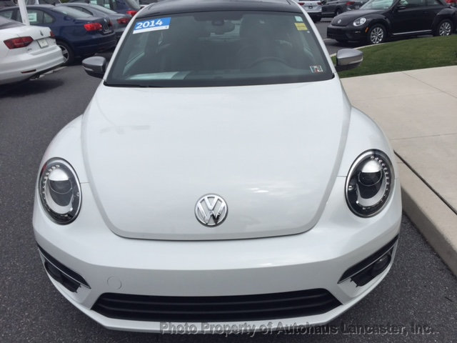 Pre-Owned 2014 Volkswagen Beetle Coupe 2dr DSG 2.0L TDI w/Premium PZEV