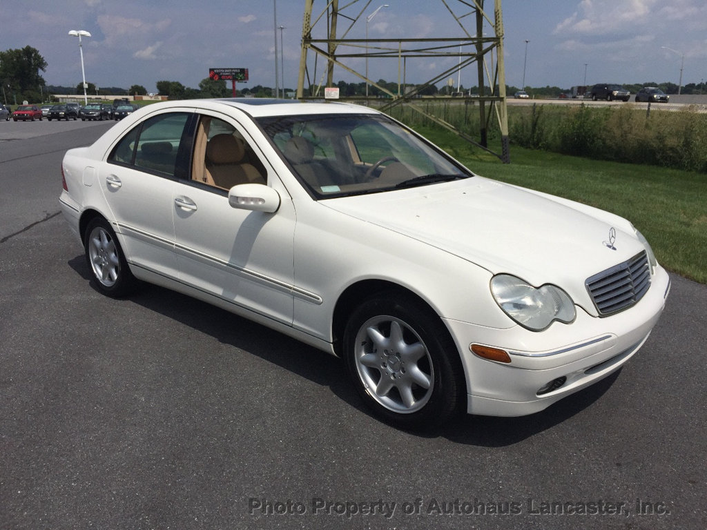 Pre-Owned 2003 Mercedes-Benz C-Class C240 4dr Sedan 2.6L