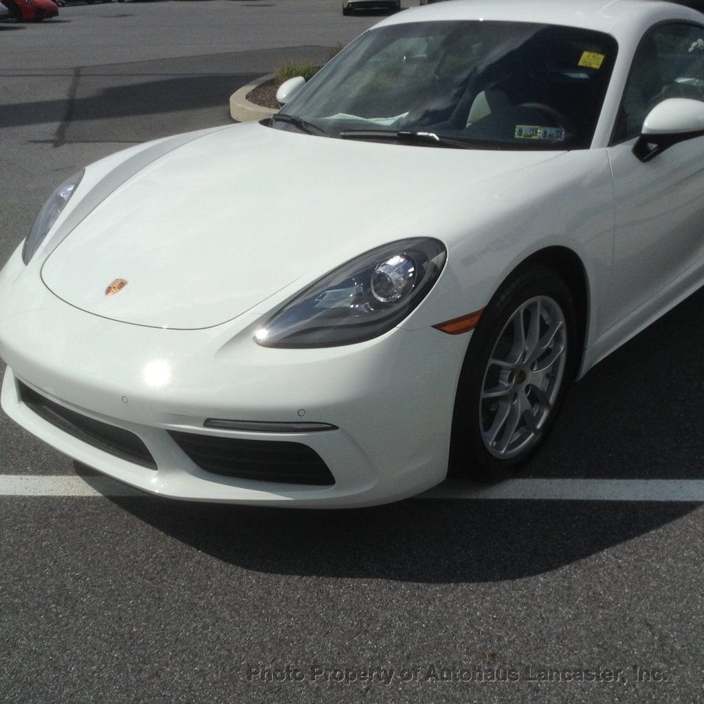 Certified Pre-Owned 2018 Porsche 718 Cayman Former Service Loaner SAVE!!!