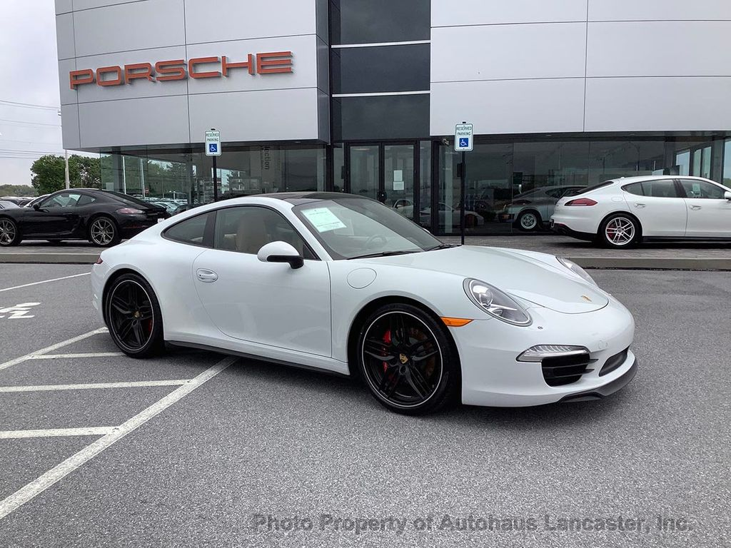 Pre-Owned 2015 Porsche 911 Certified Loaded 911 C4S Coupe!