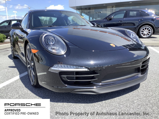 Certified Pre-Owned 2015 Porsche 911 2dr Coupe Carrera 4S