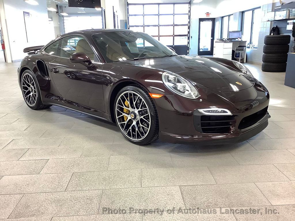 Pre-Owned 2014 Porsche 911 2dr Coupe Turbo S