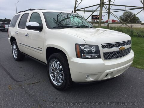 Pre-Owned 2013 Chevrolet Tahoe 4WD 4dr 1500 LTZ