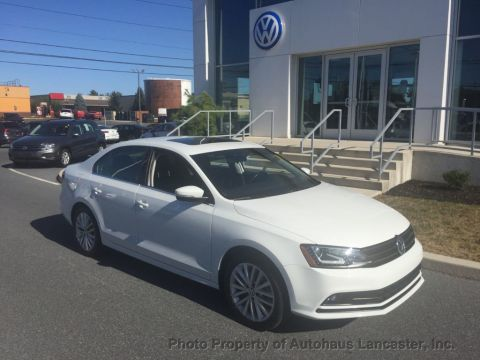 Pre-Owned 2016 Volkswagen Jetta Sedan 1.8T SEL 4dr Automatic