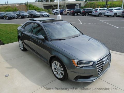 Pre-Owned 2015 Audi A3 4dr Sedan FWD 2.0 TDI Premium