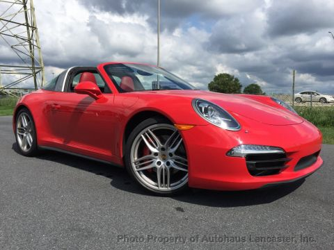 Certified Pre-Owned 2016 Porsche 911 2dr Targa 4S