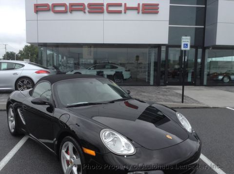 Pre-Owned 2008 Porsche Boxster 2dr Roadster S