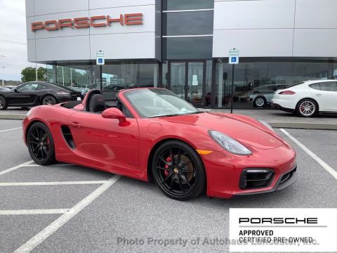 Certified Pre-Owned 2016 Porsche Boxster 2dr Roadster GTS
